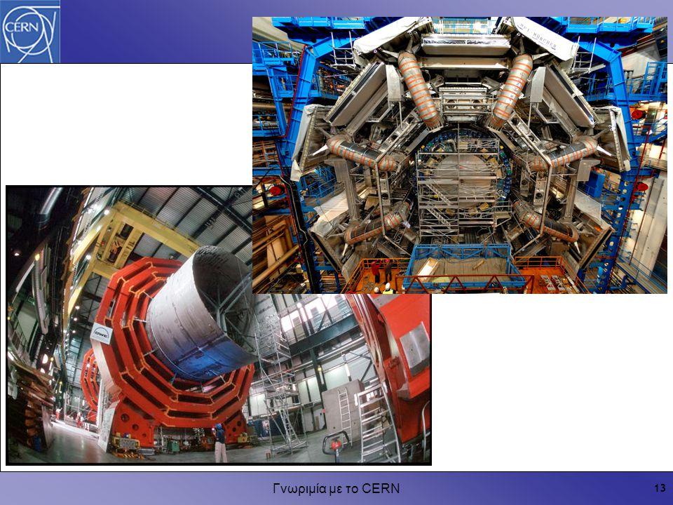 Γνωριμία με το CERN