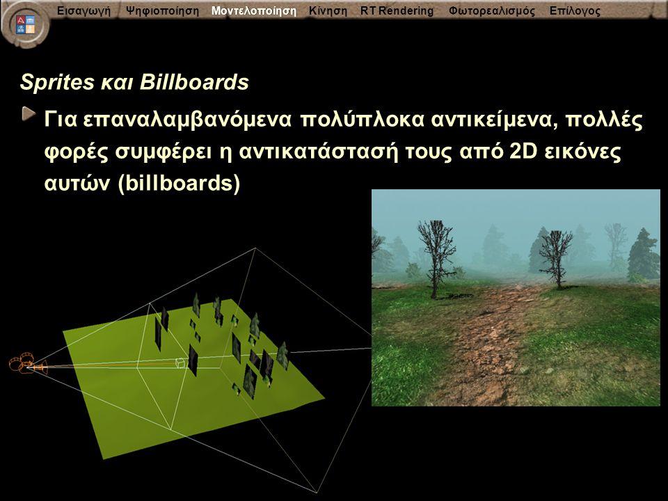Sprites και Billboards