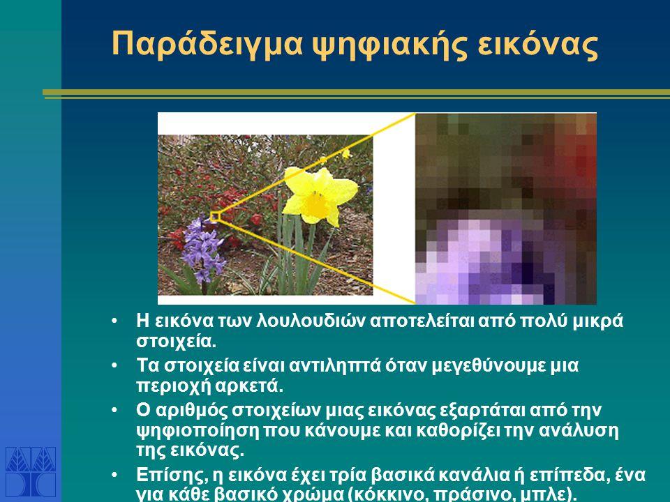Παράδειγμα ψηφιακής εικόνας