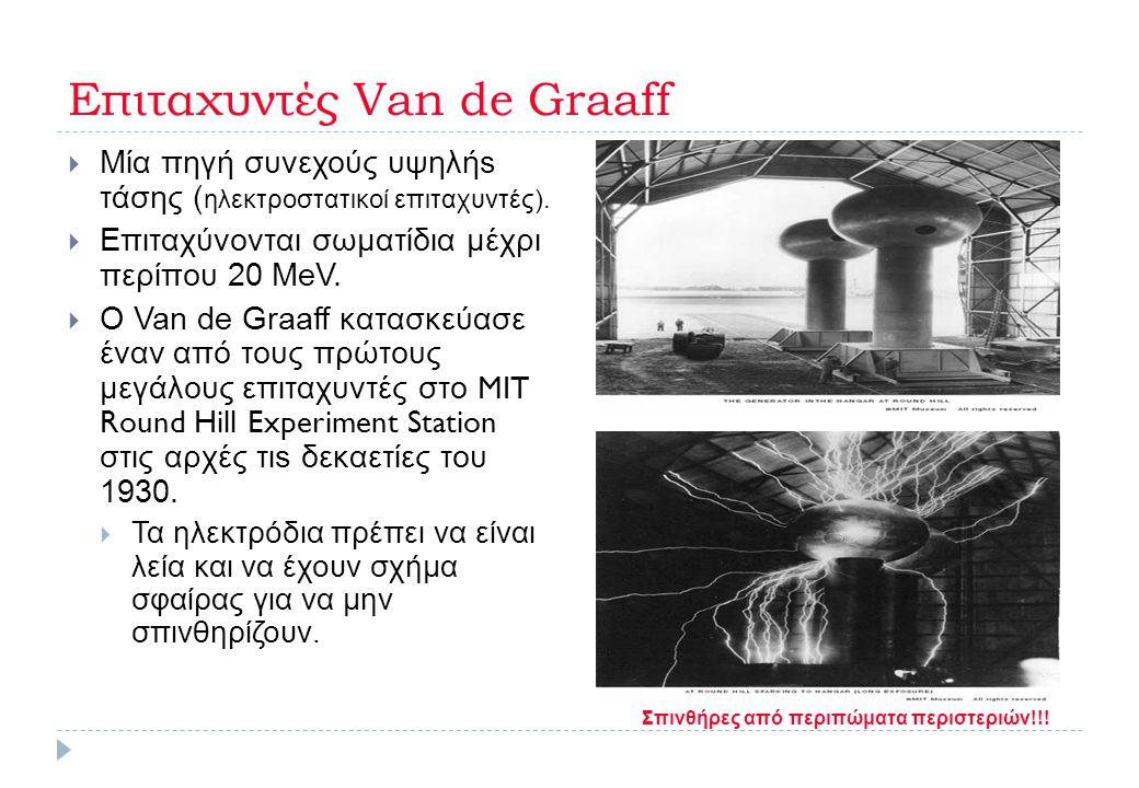Επιταχυντές Van de Graaff