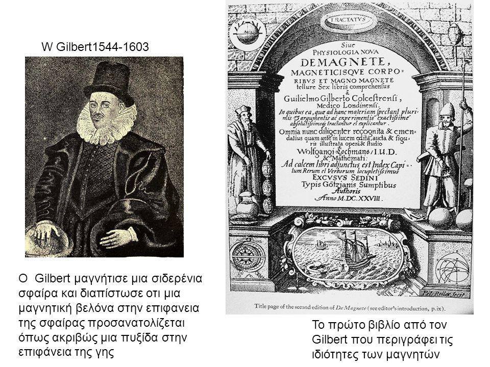 W Gilbert1544-1603