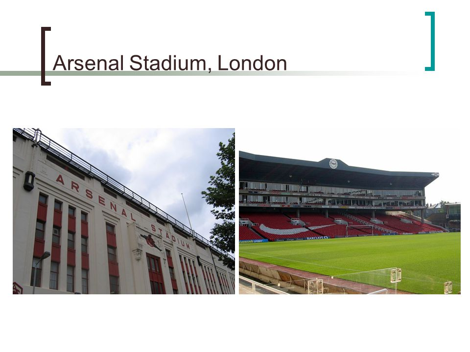 Arsenal Stadium, London