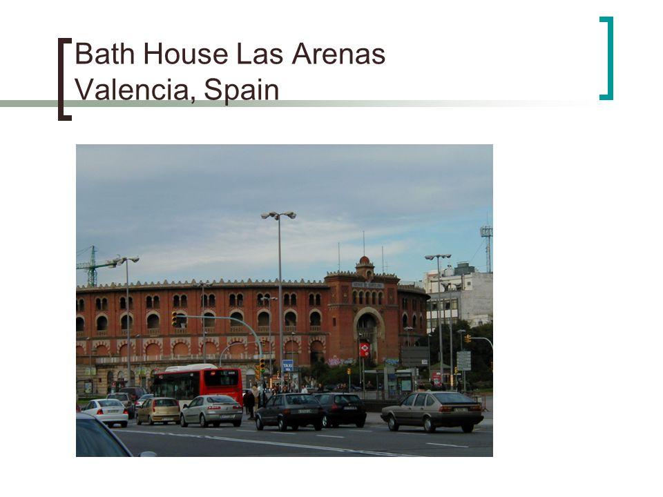 Bath House Las Arenas Valencia, Spain