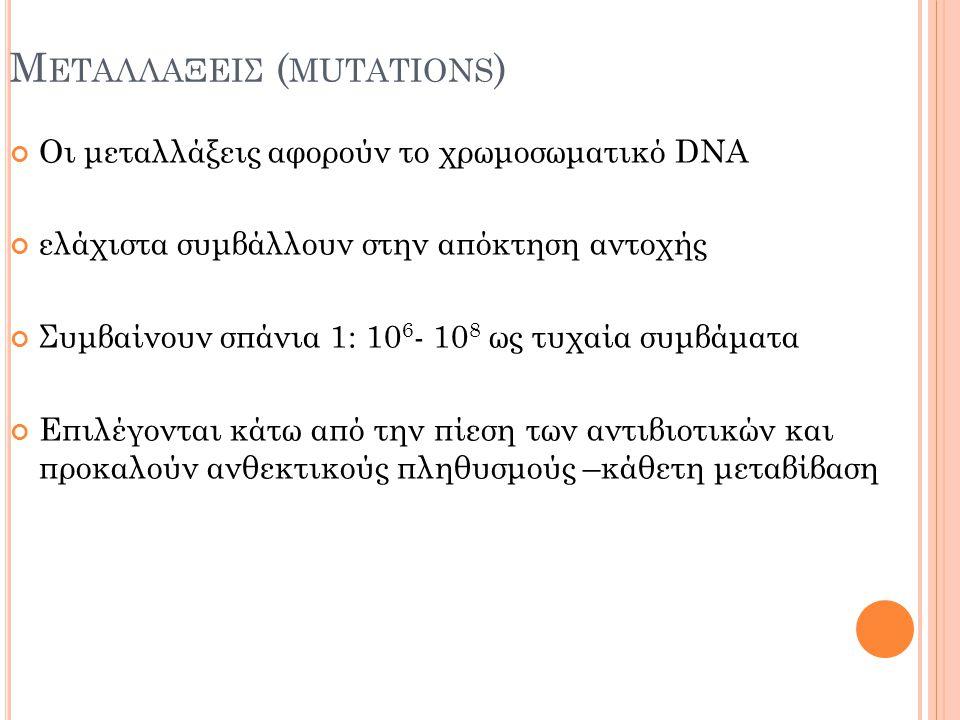 Μεταλλαξεισ (mutations)