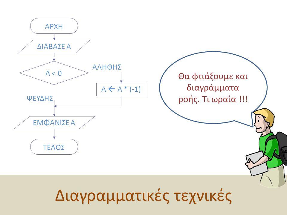 Διαγραμματικές τεχνικές