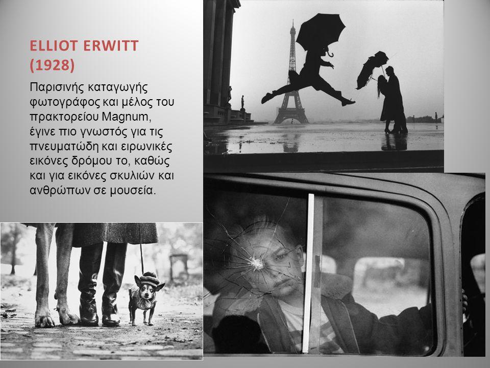 ELLIOT ERWITT (1928)