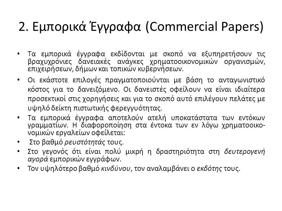 2. Εμπορικά Έγγραφα (Commercial Papers)