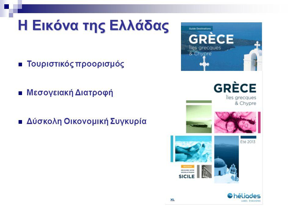 Η Εικόνα της Ελλάδας Τουριστικός προορισμός Μεσογειακή Διατροφή