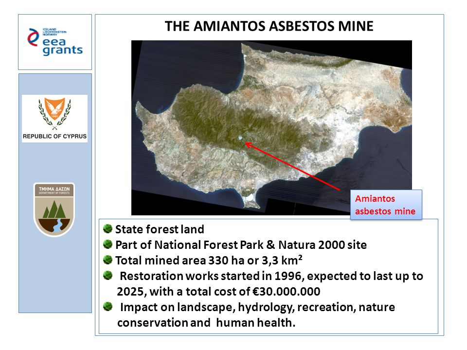 THE AMIANTOS ASBESTOS MINE