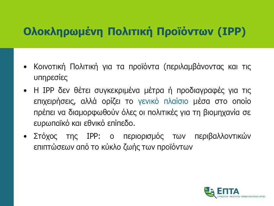 Ολοκληρωμένη Πολιτική Προϊόντων (IPP)