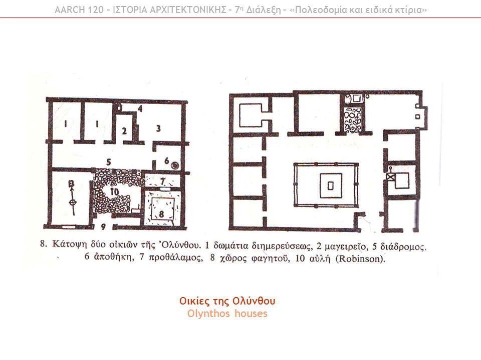 Οικίες της Ολύνθου Olynthos houses