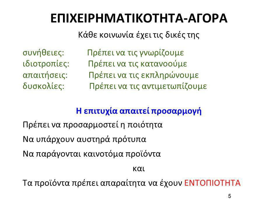 ΕΠΙΧΕΙΡΗΜΑΤΙΚΟΤΗΤΑ-ΑΓΟΡΑ