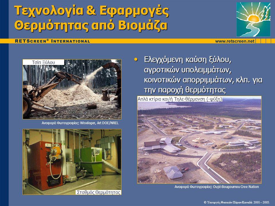 Τεχνολογία & Εφαρμογές Θερμότητας από Βιομάζα