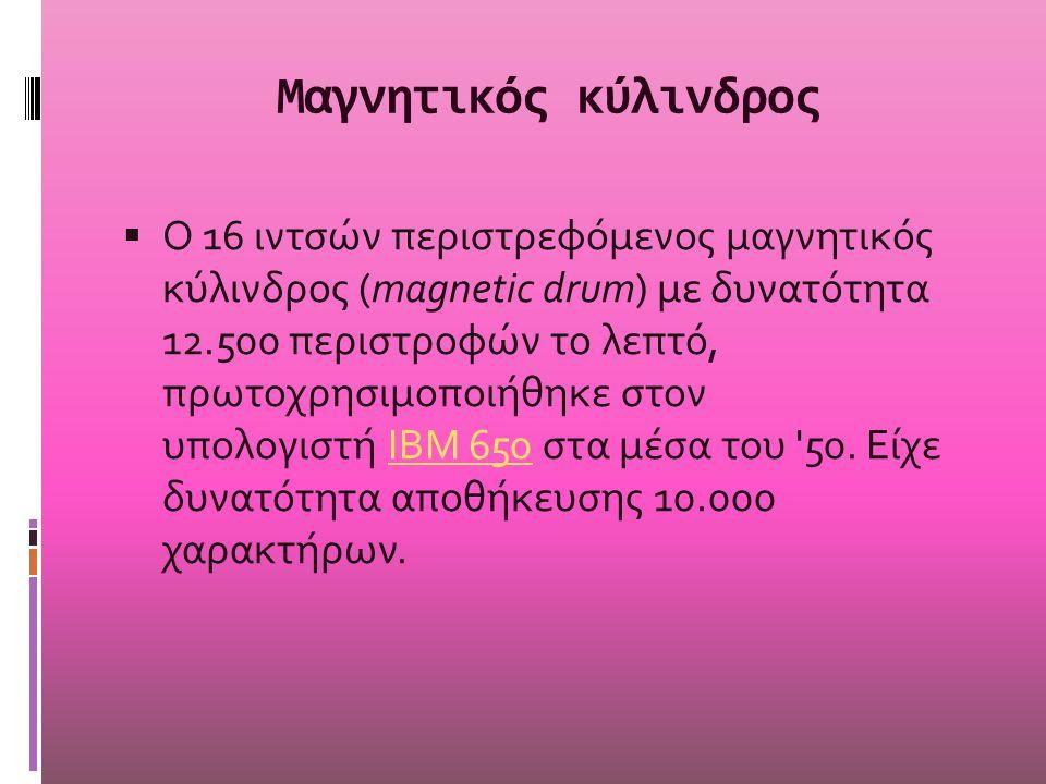 Μαγνητικός κύλινδρος