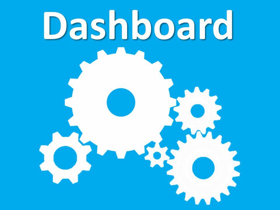 Dashboard Kαι τώρα ξεκινάμε με το dashboard και τη live περιήγηση στις λειτουργίες του