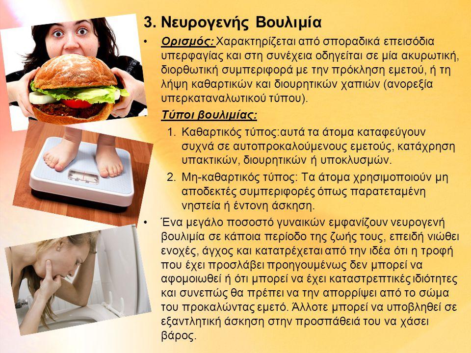 3. Νευρογενής Βουλιμία