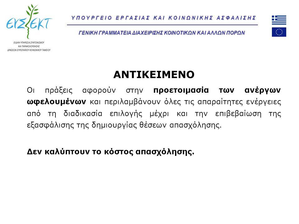 ΑΝΤΙΚΕΙΜΕΝΟ