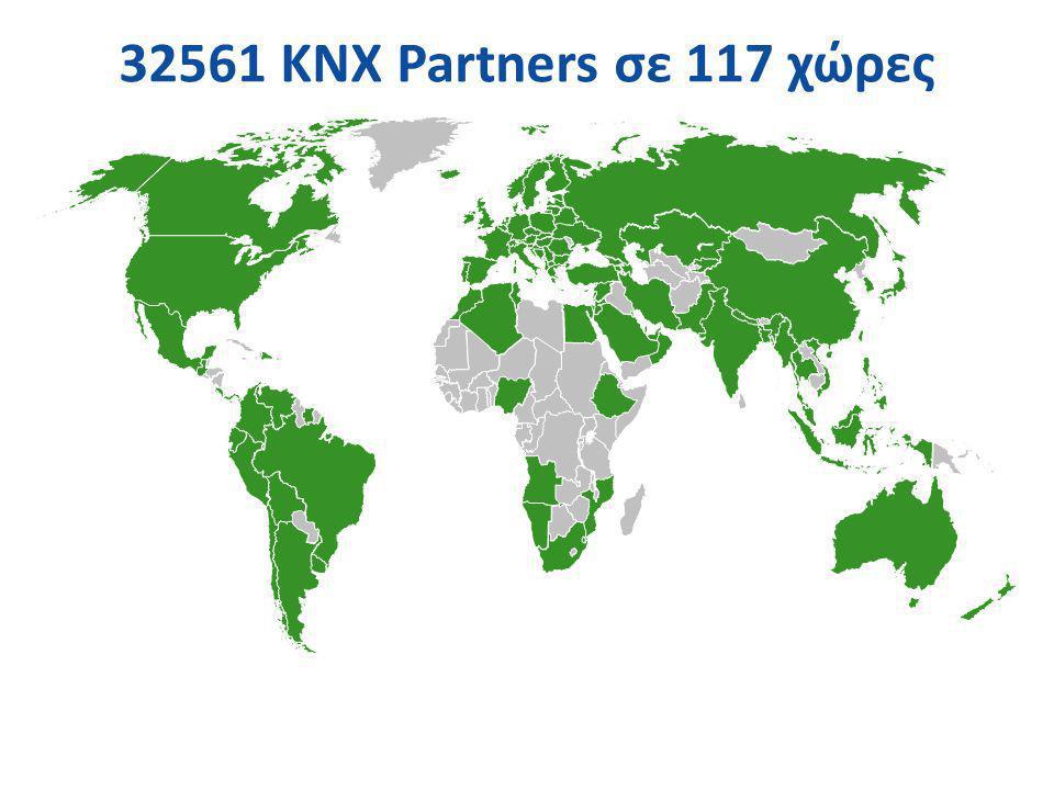 32561 KNX Partners σε 117 χώρες