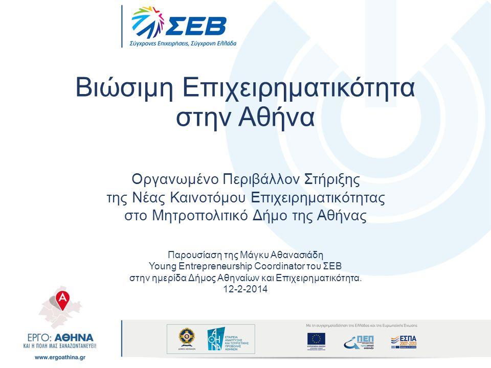 Βιώσιμη Επιχειρηματικότητα στην Αθήνα