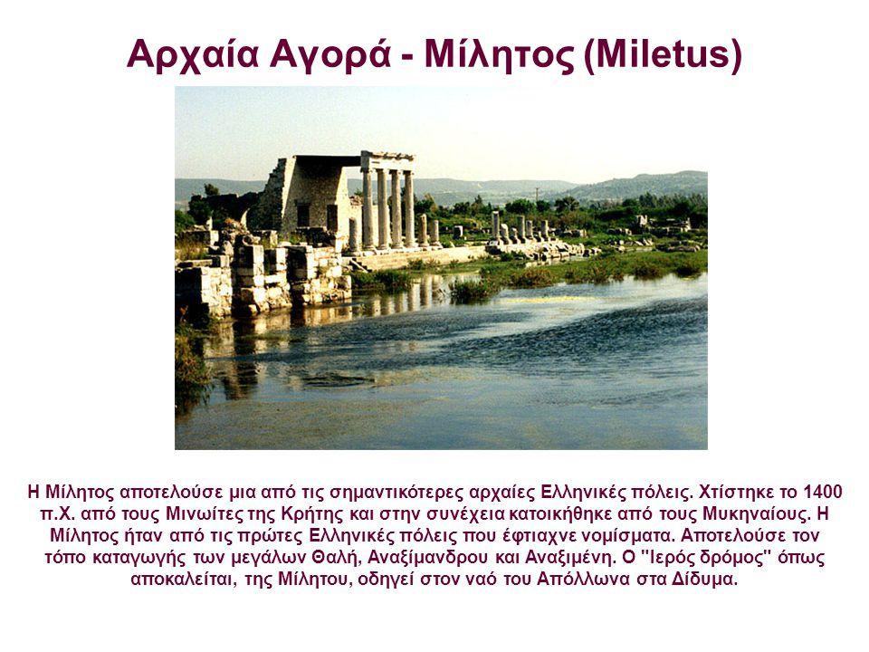 Αρχαία Αγορά - Μίλητος (Miletus)