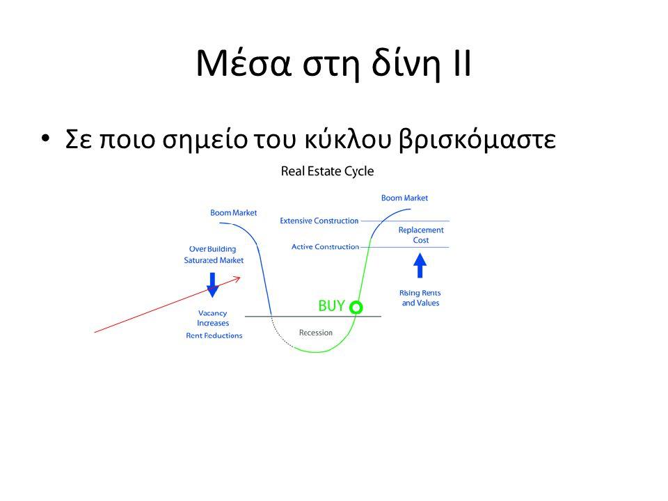 Μέσα στη δίνη ΙΙ Σε ποιο σημείο του κύκλου βρισκόμαστε