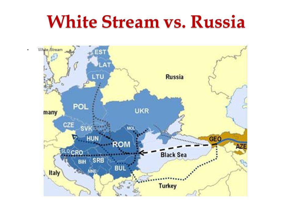 White Stream vs. Russia White Stream