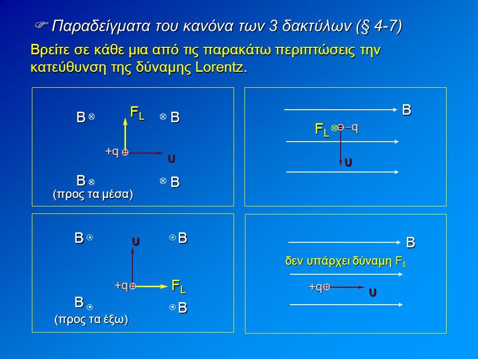  Παραδείγματα του κανόνα των 3 δακτύλων (§ 4-7)