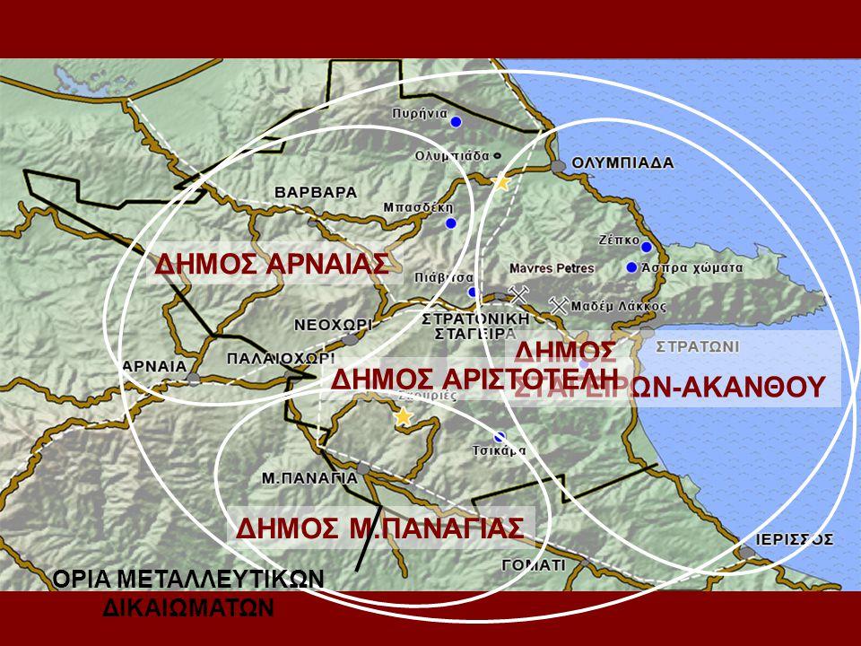 ΟΡΙΑ ΜΕΤΑΛΛΕΥΤΙΚΩΝ ΔΙΚΑΙΩΜΑΤΩΝ