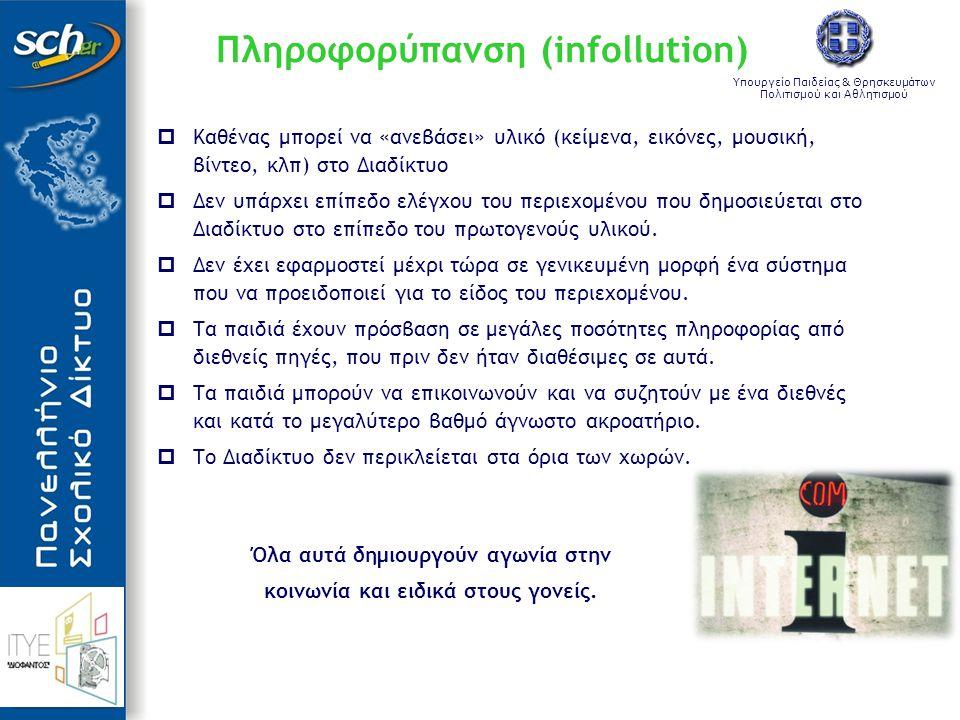 Πληροφορύπανση (infollution)