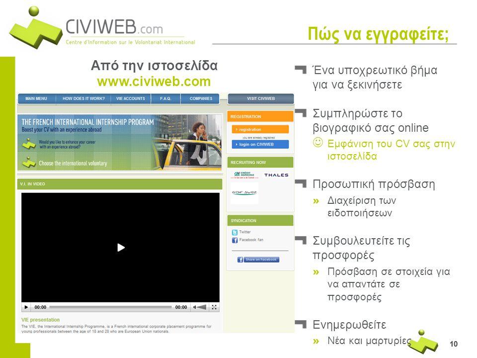 Από την ιστοσελίδα www.civiweb.com
