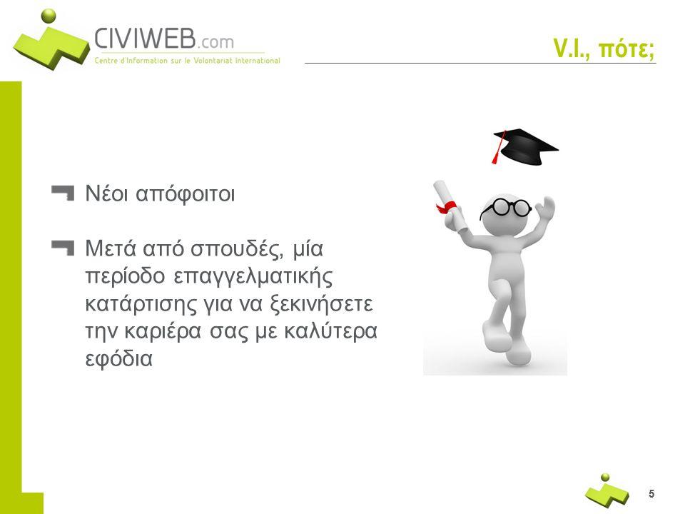 V.I., πότε; Νέοι απόφοιτοι