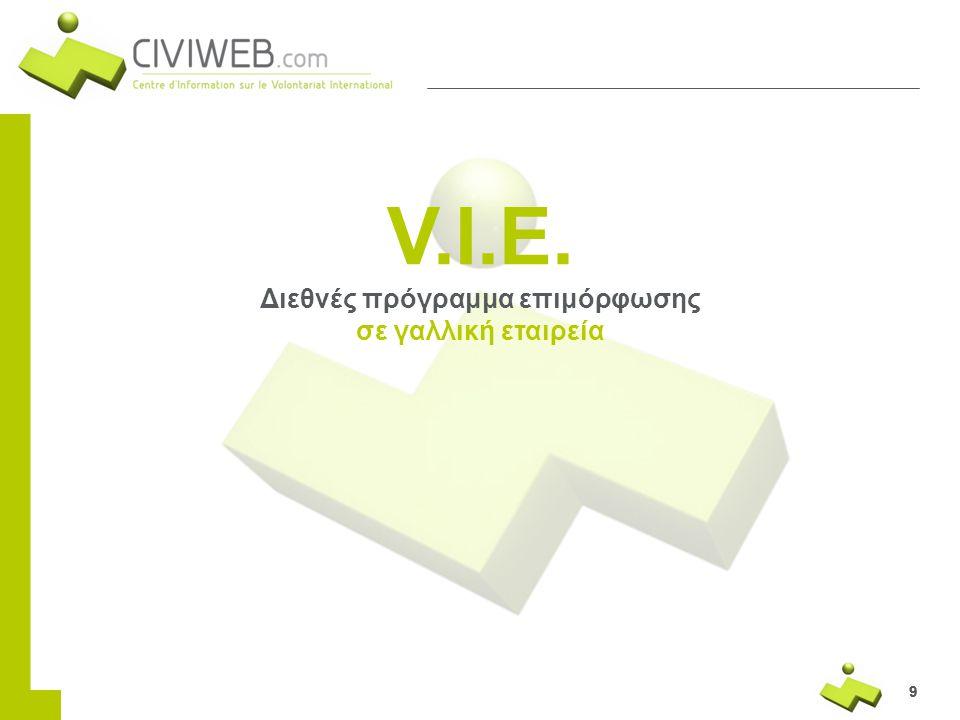 Διεθνές πρόγραμμα επιμόρφωσης σε γαλλική εταιρεία