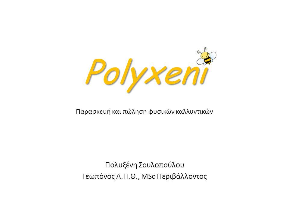Polyxeni Παρασκευή και πώληση φυσικών καλλυντικών