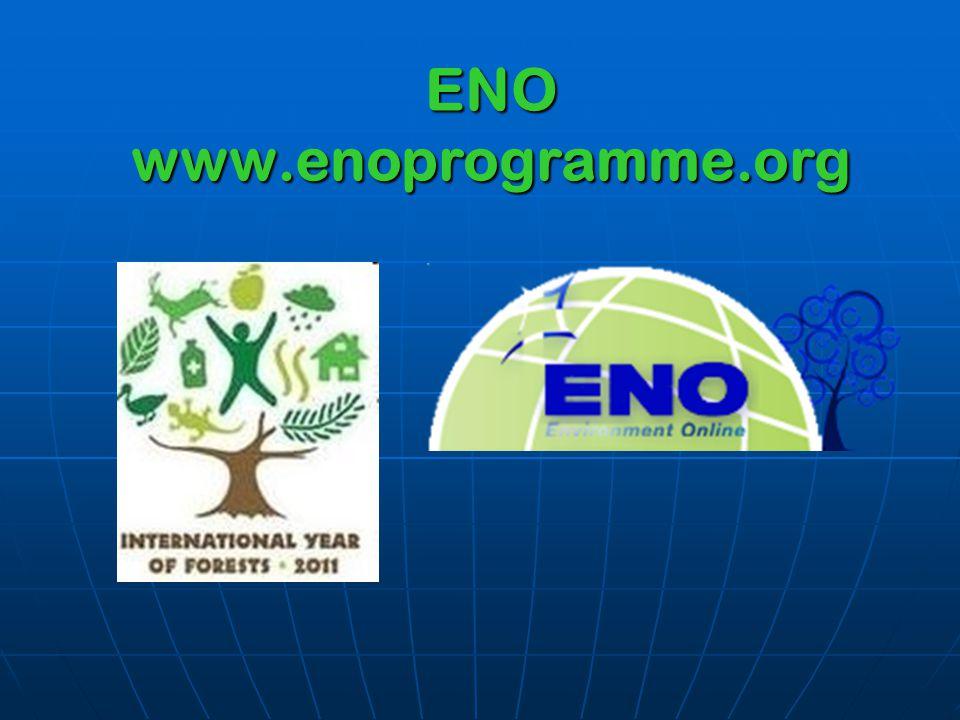 ENO www.enoprogramme.org
