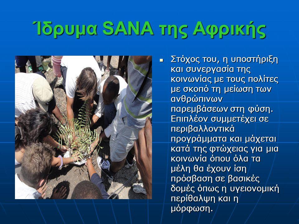 Ίδρυμα SANA της Αφρικής