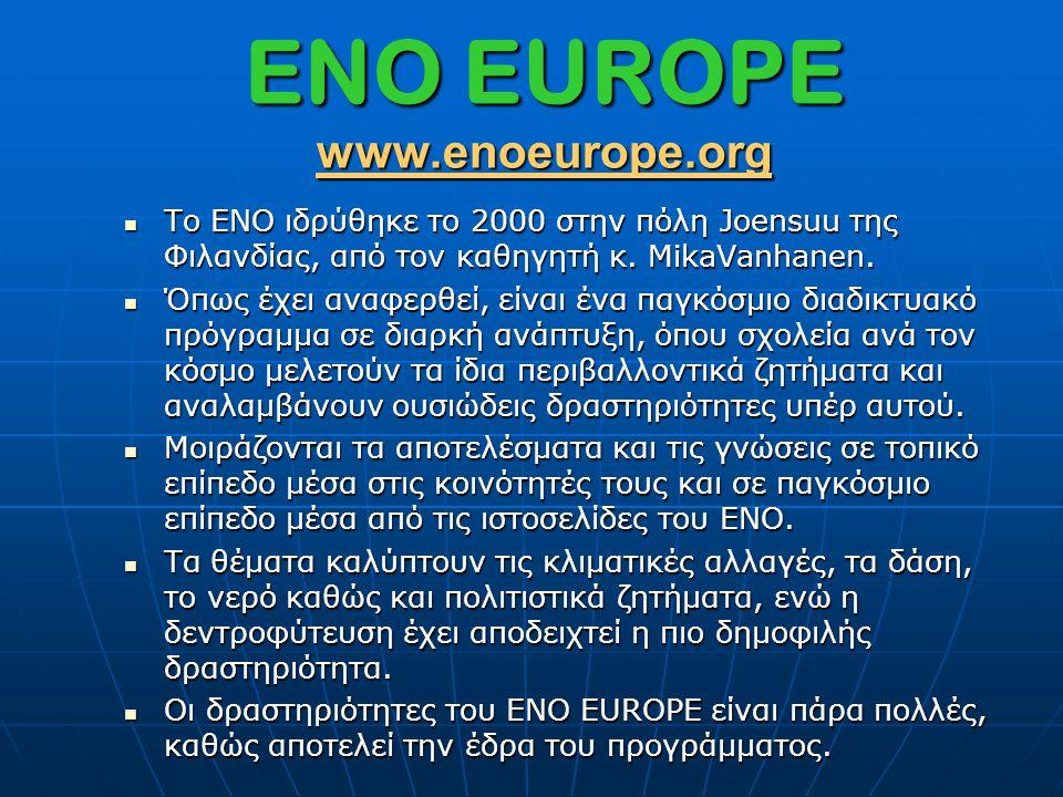 ENO EUROPE www.enoeurope.org