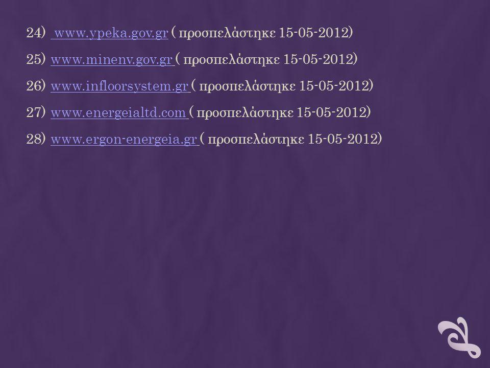 www.ypeka.gov.gr ( προσπελάστηκε 15-05-2012)