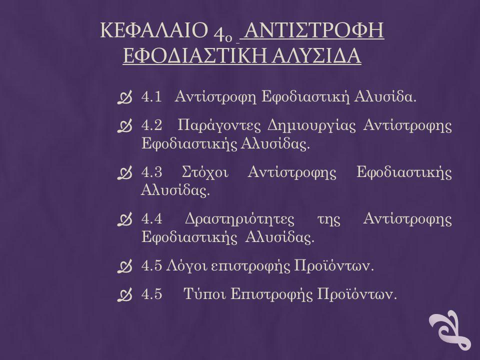 ΚΕΦΑΛΑΙΟ 40 αντιστροφη εφοδιαστικη αλυσιδα