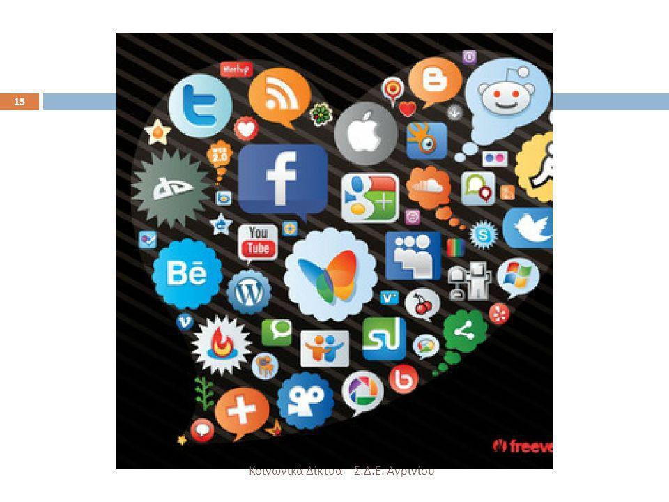 Κοινωνικά Δίκτυα – Σ.Δ.Ε. Αγρινίου