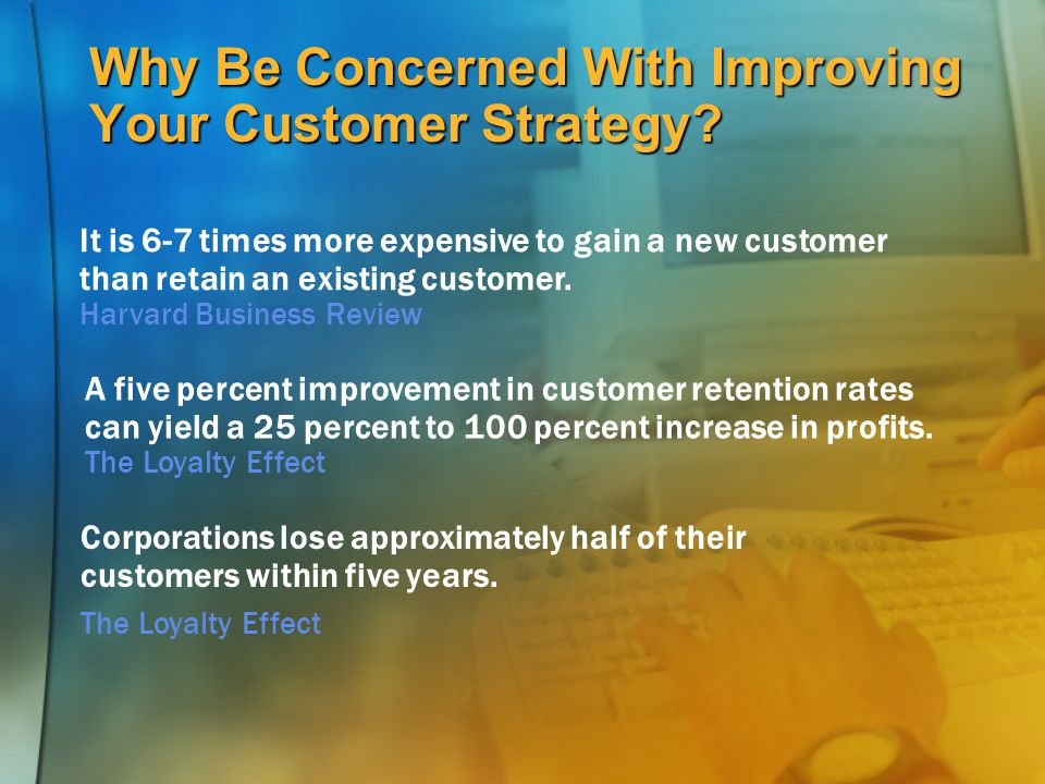 Why Be Concerned With Improving Your Customer Strategy
