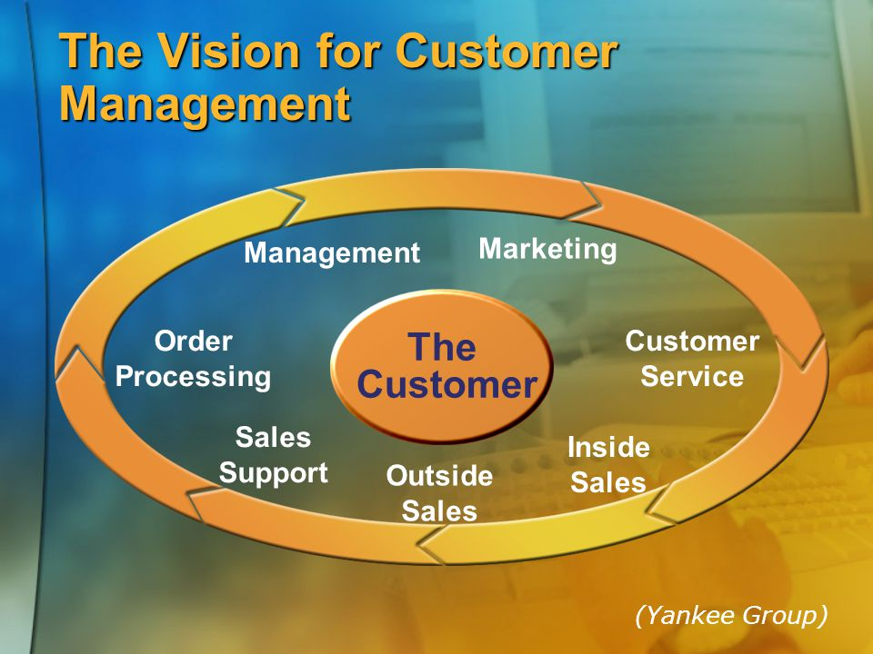The Vision for Customer Management