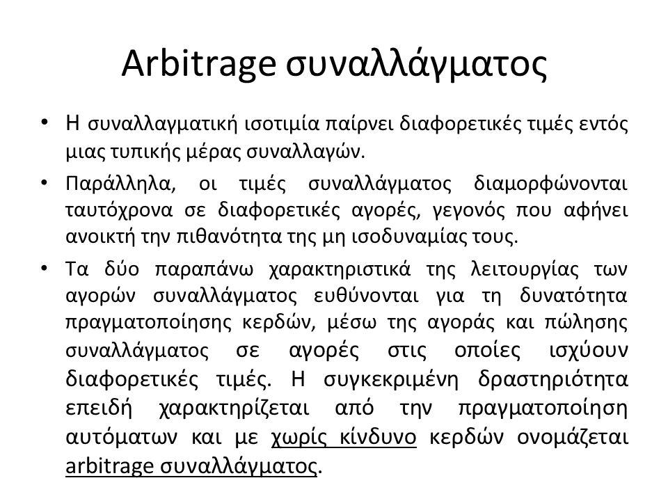 Arbitrage συναλλάγματος