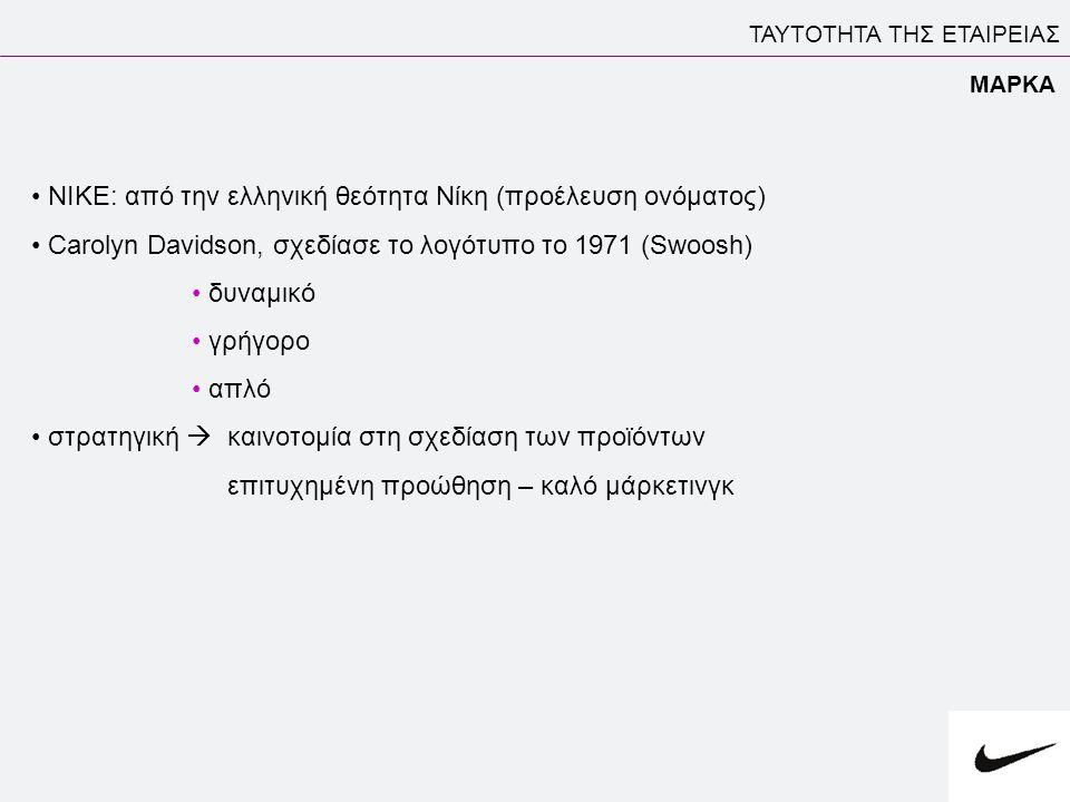 ΝΙΚΕ: από την ελληνική θεότητα Nίκη (προέλευση ονόματος)