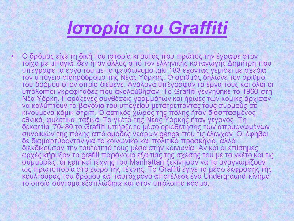 Ιστορία του Graffiti