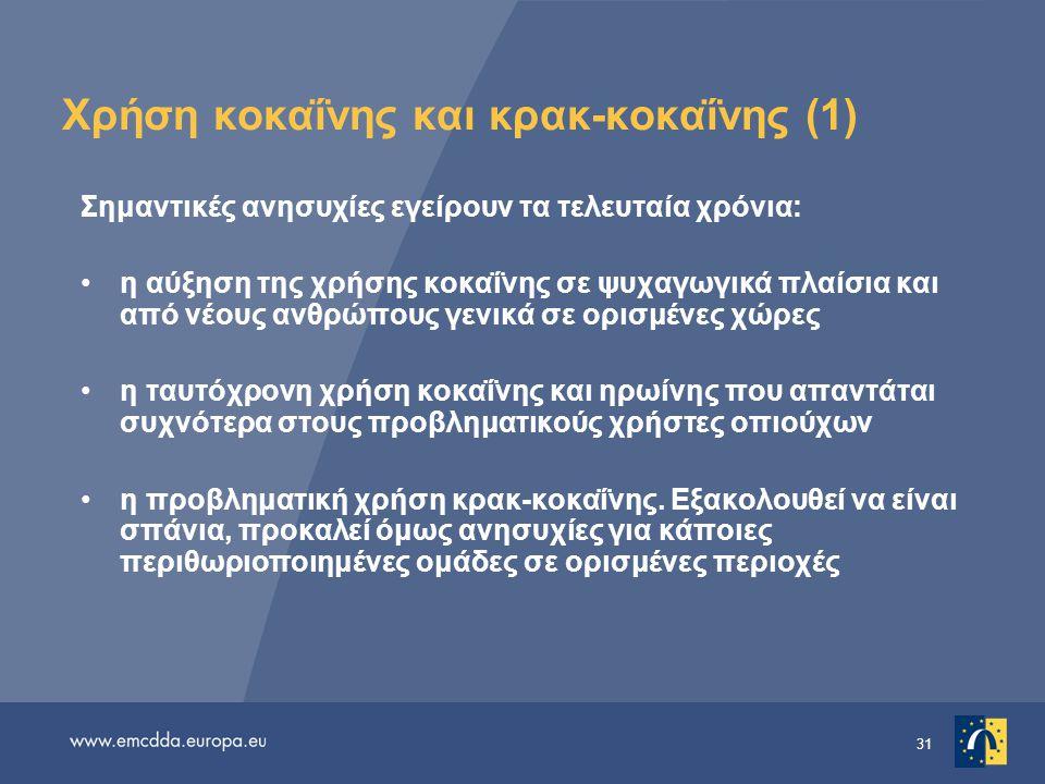 Χρήση κοκαΐνης και κρακ-κοκαΐνης (1)