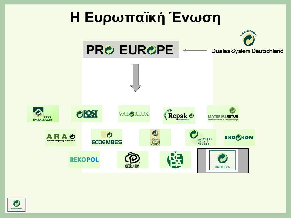 Η Ευρωπαϊκή Ένωση Duales System Deutschland
