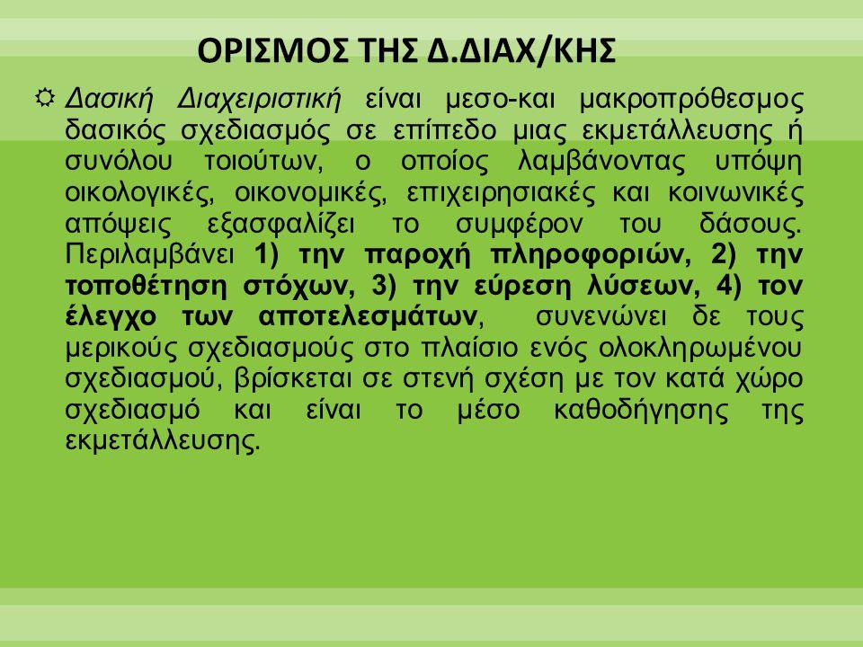 ΟΡΙΣΜΟΣ ΤΗΣ Δ.ΔΙΑΧ/ΚΗΣ