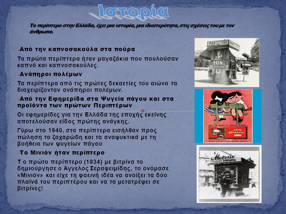 Ιστορία Από την καπνοσακούλα στα πούρα