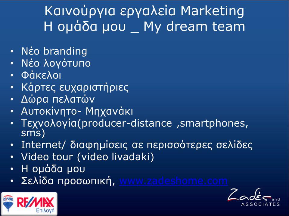 Καινούργια εργαλεία Marketing Η ομάδα μου _ My dream team