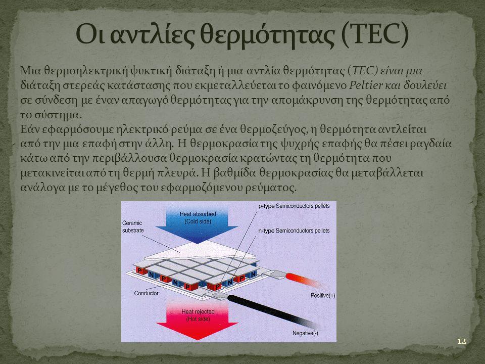 Οι αντλίες θερμότητας (TEC)